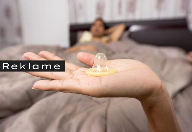Kondomer er heller ikke helt let